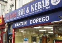 Ali Baba Fish & Kebab Captain Dorego