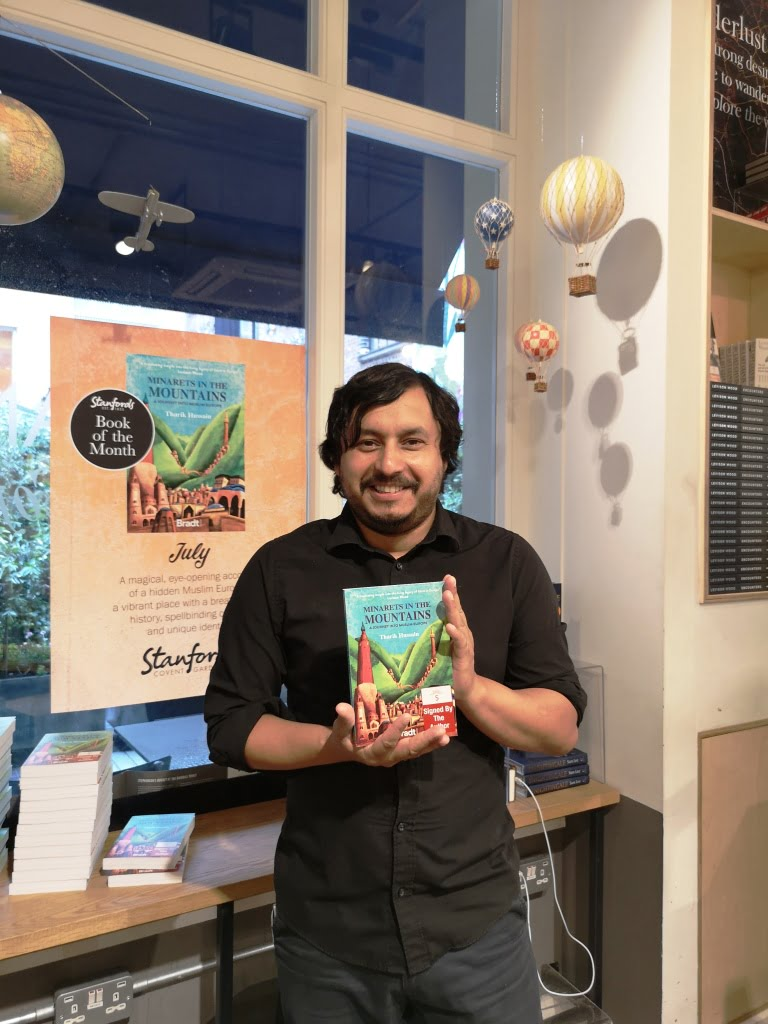 Book signing with Tharik Hussain at Humphry's Café