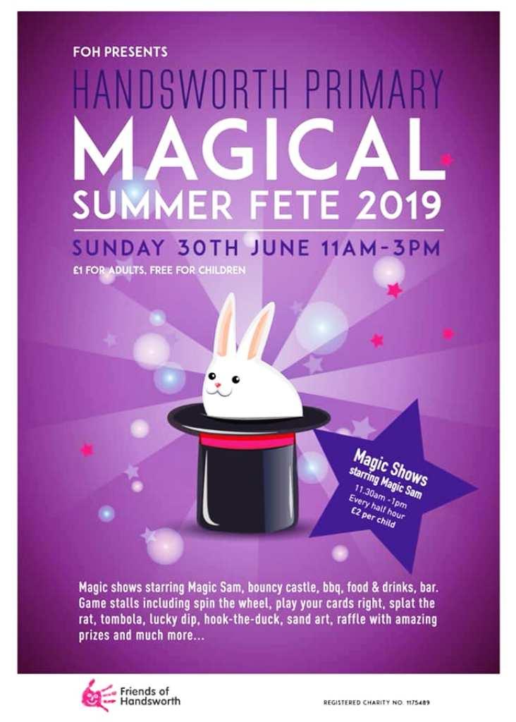 Magical Summer Fete at Handsworth School