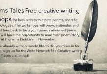 Highams Tales Free Creative Writing Workshops