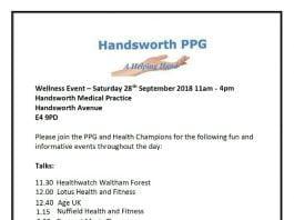 Welllness Event - Handsworth Medical Centre