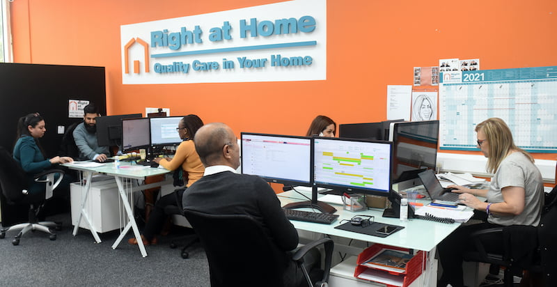 Care where you need it – Right at Home