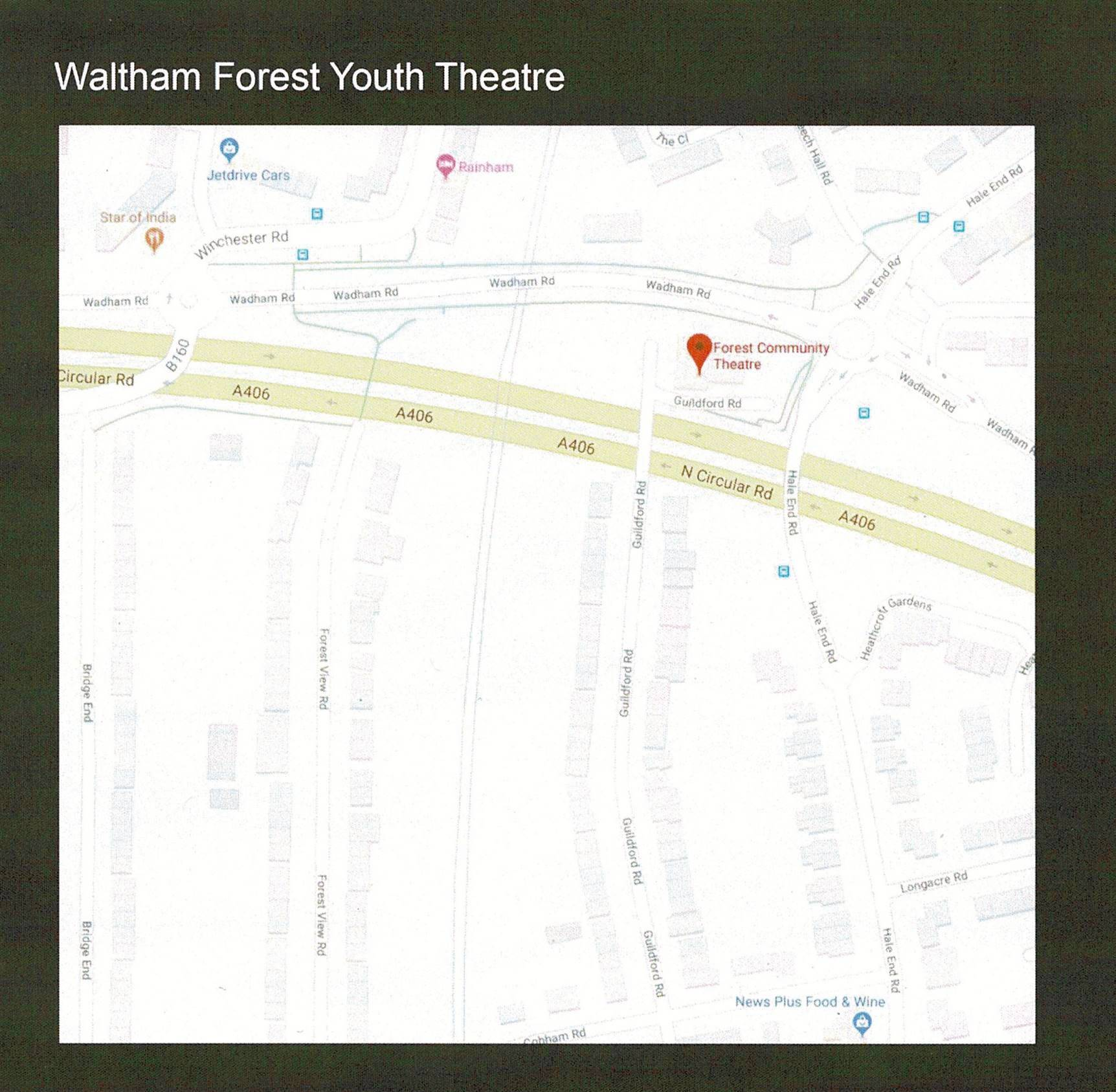 ACTING CLASS for 5 to 10 year olds at Waltham Forest Youth Theatre